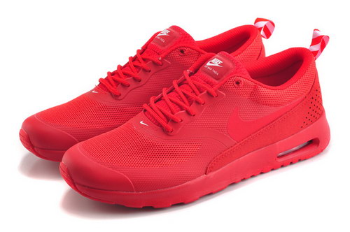 Womens Nike Air Max Thea All Red Netherlands